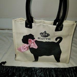My Flat in London Worthington pug purse